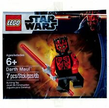 MSIB Lego 5000062 Darth Maul Shirtless Exclusive Polybag