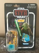Kenner STAR WARS VINTAGE COLLECTION REVENGE OF THE SITH YODA VC20 Boba Fett Prom