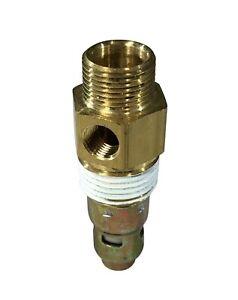 """New air compressor in tank check valve 1/2"""" Compression X 1/2"""" Male NPT"""