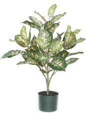"""24"""" SILK PLANT BUSH ARTIFICIAL PALM DECOR TREE IN POT ARRANGEMENT FLOWER FLORAL"""