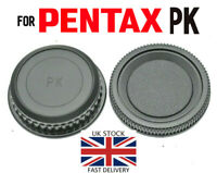 NEW Body & Rear Lens Cap For Pentax PK Mount *UK Seller* SLR DSLR Camera / Lens