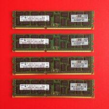 HP Genuine 500203-061 (4x4GB) 2Rx4 PC3-10600R DDR3-1333 Proliant Server Mem