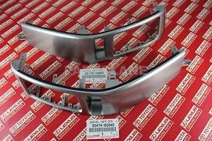 Toyota Land Cruiser Prado 2003-09 OEM Instrument Air Vent Finish Panel Garnish