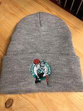 Boston Celtics Gray Cuff Beanie. New Winter Hat. Scull Cap