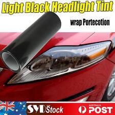 Auto Headlight Tint Tail Fog Lamp Vinyl Smoke Look  Film Sheet 2PCS 30cm x 65cm