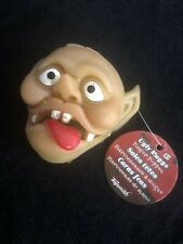 Vintage Ugly Muggs Finger Puppet by Toysmith 1981 with Tag