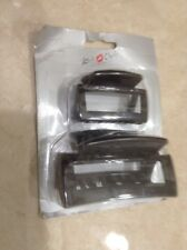 Twin set of Hair Claws. Black  Brand New!