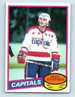 1980-81 O-Pee-Chee Mike Gartner Rookie #195