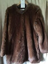 SOLD OUT NWT WHISTLES Allegra Incredible Faux Fur Designer Runway Long Jacket