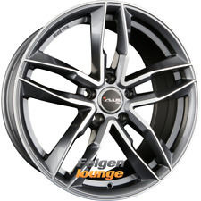 4 Alufelgen AVUS Racing AF16 Anthracite Polished 8,5x19 ET35 5x112 66,6 NEU
