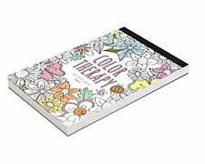 'Color Therapy' Coloring Books for Adult Relaxation DIY Stationery 32 Cards 02