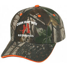 Cap Hat Camo Orange Trim Redbone Treeing Coon Hound Coonhound Dog Hunter