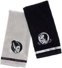 Sourpuss Monsters Towel Set Gray & Black NEW Frankenstein Bride Horror Halloween