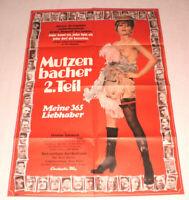 A1 Filmplakat,Plakat, MUTZENBACHER 2.Teil,CHRISTINE SCHUBERT,SEX, AKT