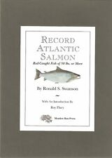 SWANSON FISHING BOOK RECORD ATLANTIC SALMON FISH OF 50 POUNDS OR MORE signed NEW