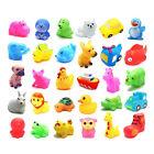13/6pcs Children Kids Toys Baby Bathing Rubber Float Sqeeze Sound Animals Play