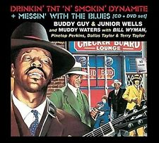 Muddy Waters / Buddy - Drinkin TNT N Smokin Dynamite / Messin with Blues [New CD