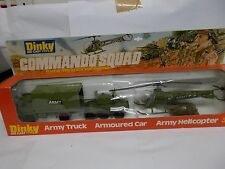 dinky 303 commando squad gift set vintage 1978