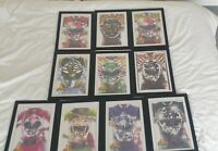 Mighty Morphin Power Rangers Boom Studios Comics Framed Set EXTREMELY RARE!!!