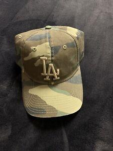 Mlb Dodgers Camo Hat