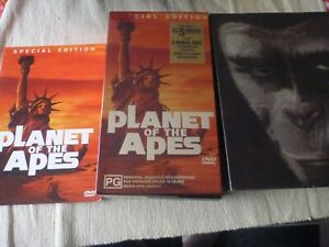 Planet Of The Apes - All 5 Movies Special Edition Boxset (5x DVD,2001) Region 4