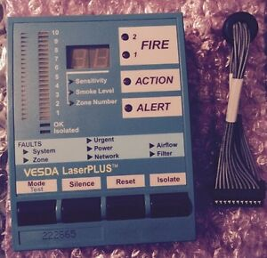 VESDA LaserPLUS, Smoke Detectors, Fire, Pre Alarm, Alert