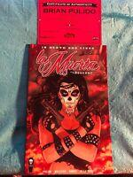 La Muerta #1: Descent- Coffin Comics Signed w/COA BRIAN PULIDO. Kickstarter set