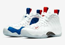 Nike WOMEN'S Air Foamposite One USA Red White Blue SIZE 9 Men's SZ 7.5 BRAND NEW