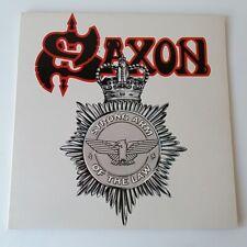 Saxon - Strong Arm of the Law - Vinyl LP 1st Press A1/B1 EX+/EX