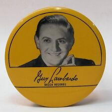 1940's GUY LOMBARDO DECCA RECORDS advertising celluloid record cleaner brush *