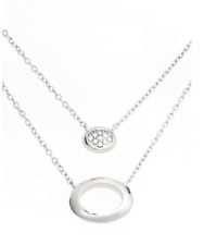 Judith Jack Metal Moment Layered Pendant Necklace 5950