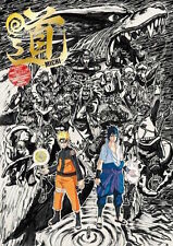 NARUTO Exhibition Official Guide Book JP Limited Anime KAKASHI SASUKE Rare New