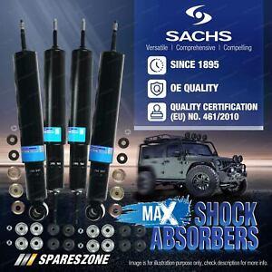 Front + Rear Sachs Max Shocks for Toyota Land Cruiser FZJ FJ HDJ HZJ 80 Wagon