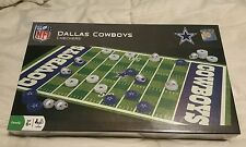 DALLAS COWBOYS CHECKERS MASTERPIECES NFL FOOTBALL BOARD GAMES NEW IN PLASTIC