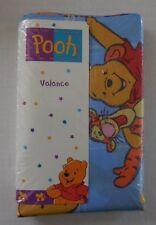 "Disney Pooh & Tigger Buddies Valance 84"" x 15"" Fit Up to 48"" Window No Iron New"
