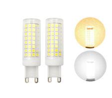 2pcs/10pcs G9 LED bulb Dimmable 9W 110V 102-2835 SMD Ceramics Light Crystal Lamp