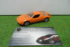 MASERATI BORA Orange 1/43 MEBETOYS MATTEL 8554 Made In ITALY voiture miniature