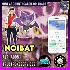 Pokemon Noibat Mini Acc PTC Catch or Trade GO