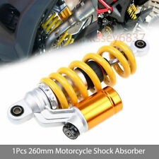 1Pcs 260mm 10'' Motorcycle Rear Air Shock Absorbers For Honda Suzuki Kawasaki
