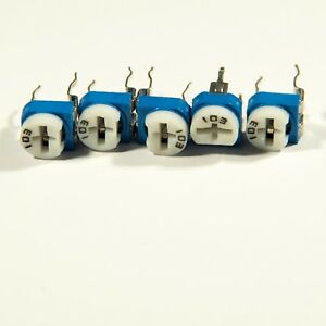 Trimmer Potentiometer Variable Resistor 100R to 1M 13 values Single or Mix Pack