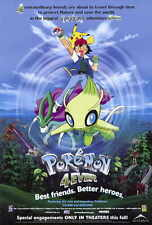 """POKEMON 4EVER Poster [Licensed-NEW-USA] 27x40"""" Theater Size"""