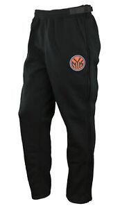 Zipway NBA Men's New York Knicks Performance Fleece Tear-Away Pants, Black