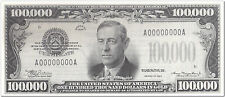 USA Funny Note 100,000 NEW special offer FREE Postage