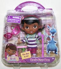 "NEW 5"" Disney JR. Doc McStuffins ROCK STAR DOC Action Figure Toy Music Playset"