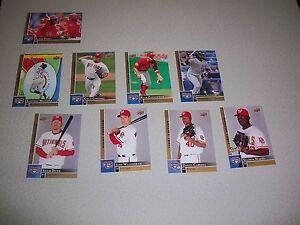 2009 Upper Deck First Edition Baseball Team Set Washington Nationals