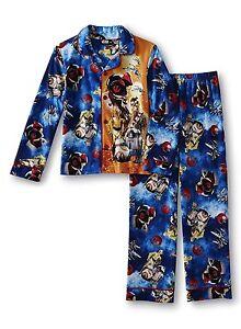 Boys Star Wars Pajamas Size 6-8-10-12 Chewbacca,BB8,Kylo Ren LEGO Winter NEW NWT