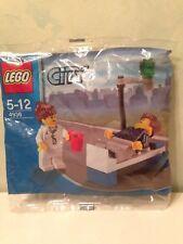 Lego chirurgien médecin blanc avec labcoat figurine city