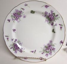 VTG HAMMERSLEY ENGLAND's COUNTRYSIDE DINNER PLATE VICTORIAN VIOLETS 10 3/4 DIA