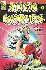 ALIEN WORLDS 2, PC  May 1983 - FULL COLOR - DAVE STEVENS COVER ART & STORY