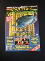 Vintage star trek voyager magazine April 1995 Back Issue  #1  Premiere Edition